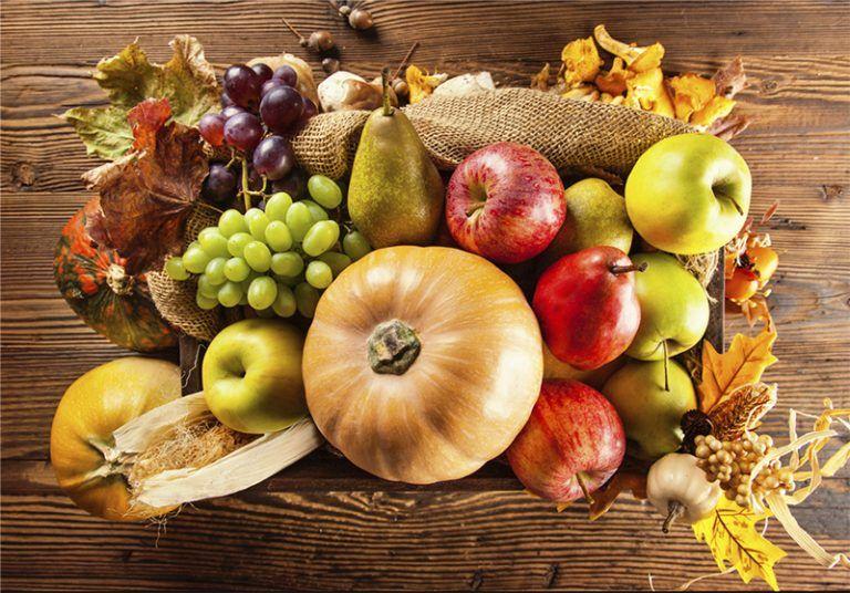 Frutas y verduras de febrero