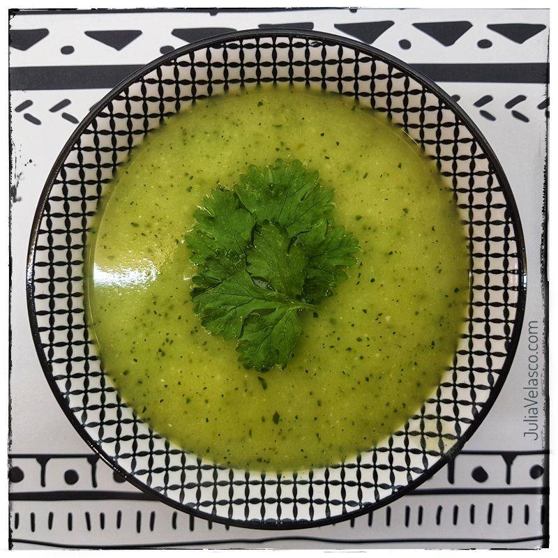 Receta de crema de zucchini