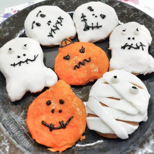 Receta para preparar unas galletas de calabaza para Hallowen