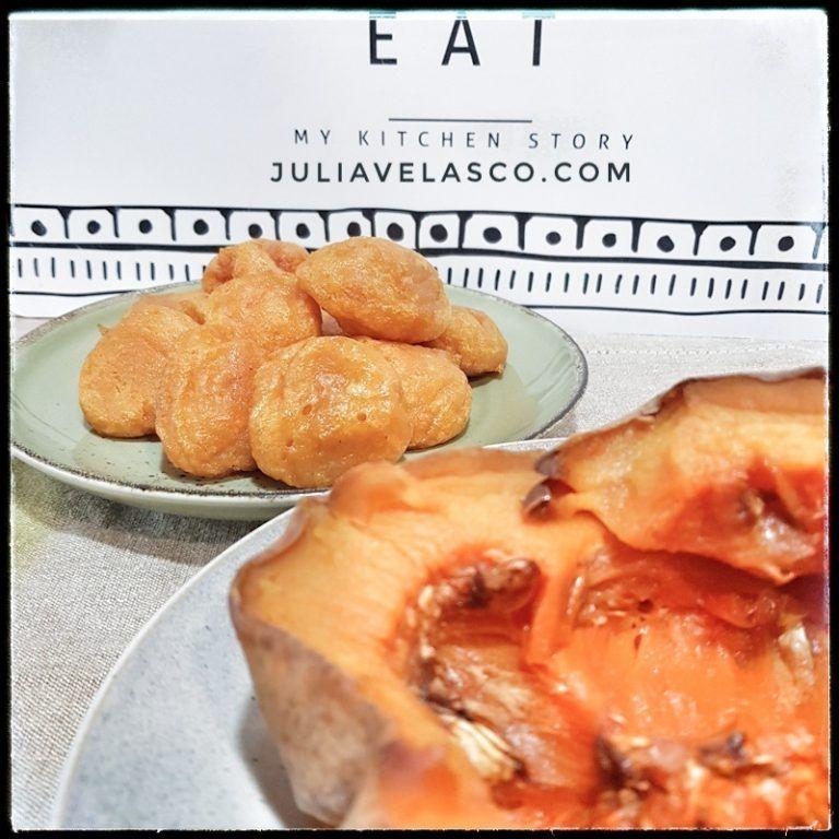 Buñuelos de calabaza sin gluten