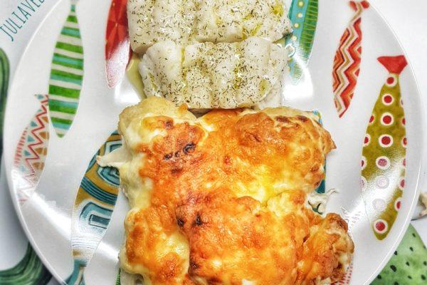 Recetas para preparar una coliflor gratinada con bacalao al eneldo