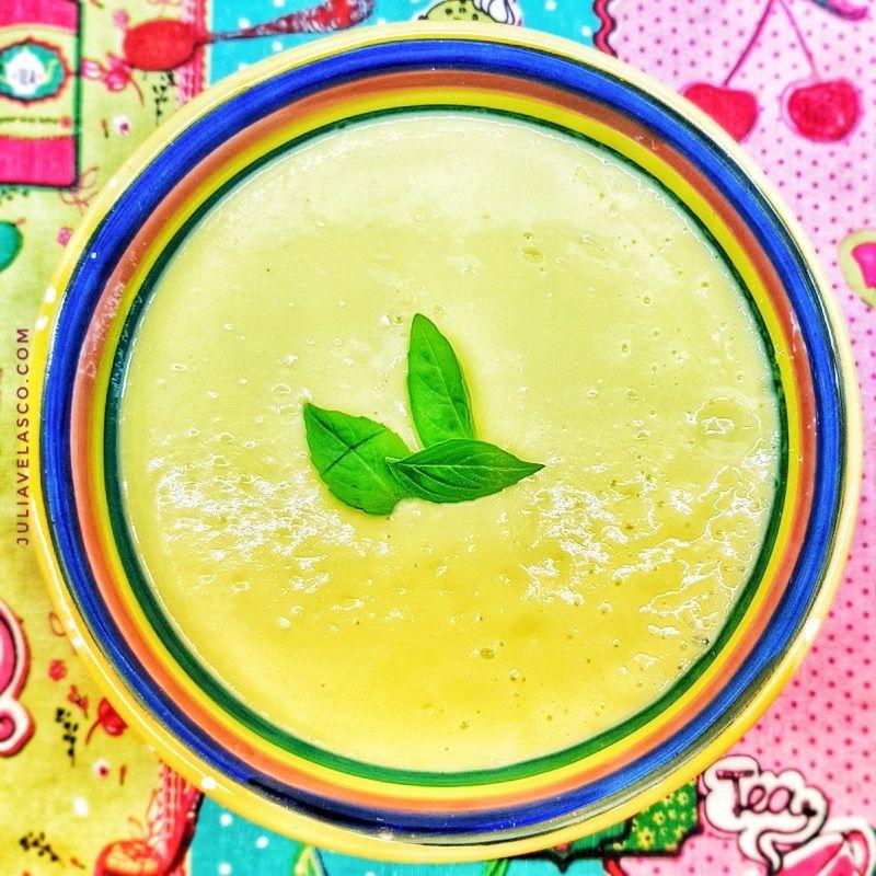 Crema de mango y aguacate