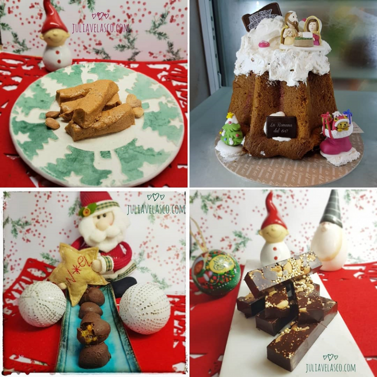 dulces para navidad