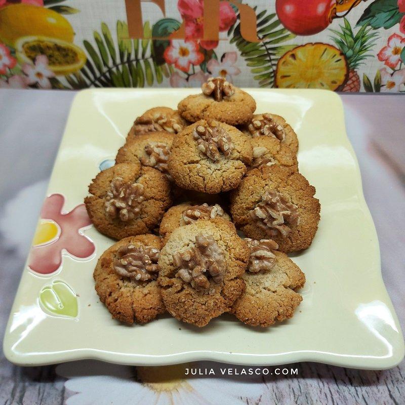 Galletas de coco keto sin azúcar
