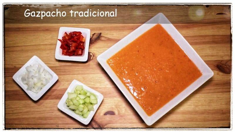 Vídeo-receta: Gazpacho tradicional