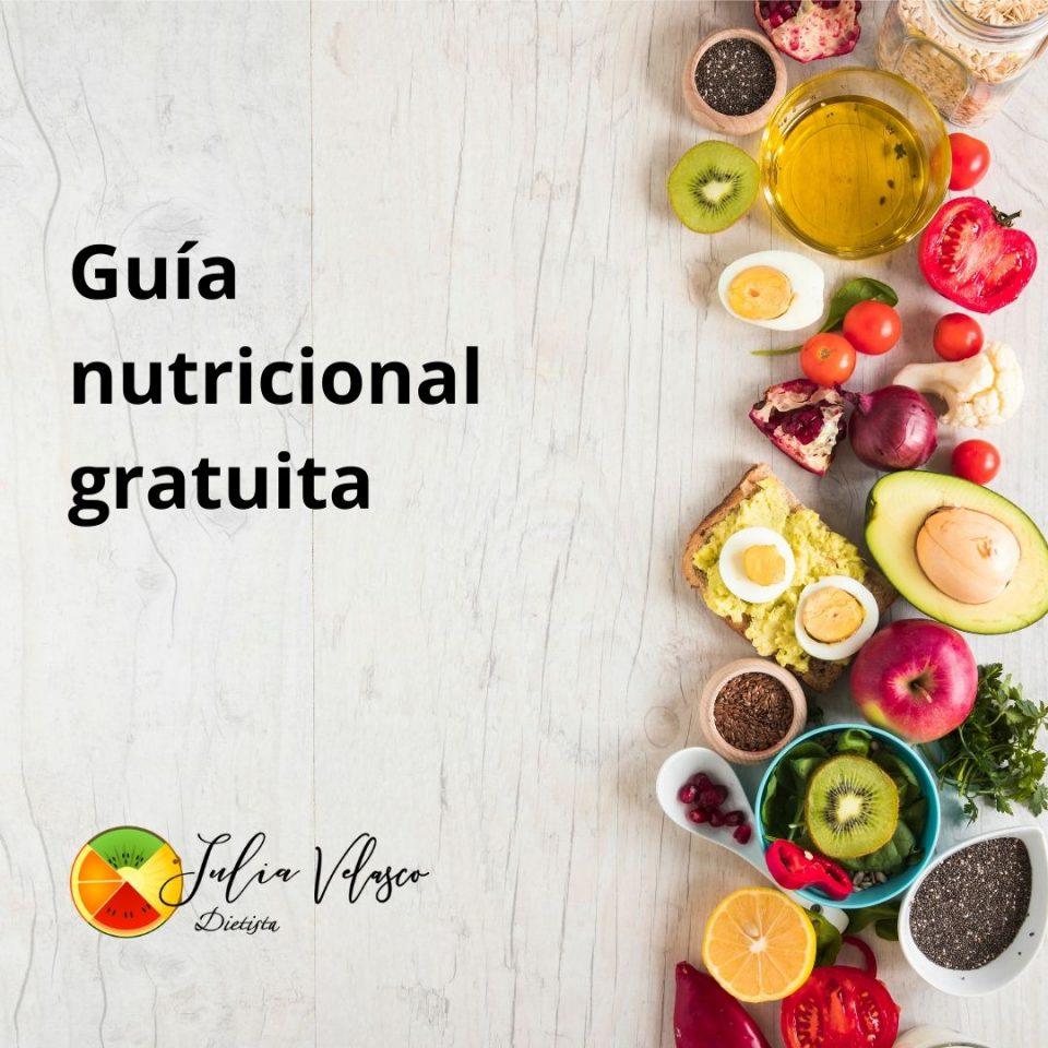 Guía nutricional gratuita para mejorar tus hábitos
