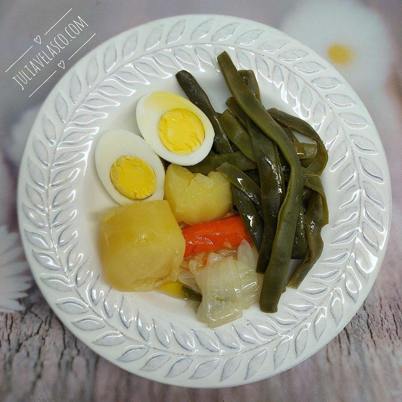 Hervido de verduras valenciano