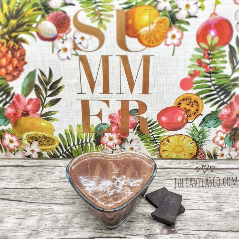 Natillas de chocolate sin azúcar