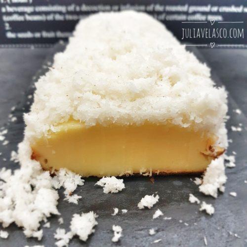 Pastel de coco low carb