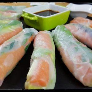 Spring rolls vietnamitas