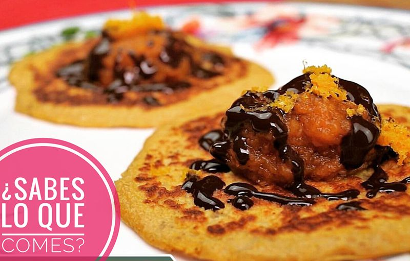 Vídeo-receta de tortitas de calabaza y avena